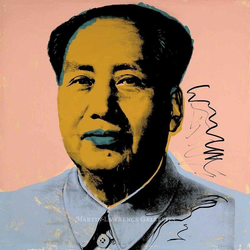 Andy Warhol, 'Mao, 1972 (#92)', 1972, Print, Hand-signed screenprint, Martin Lawrence Galleries