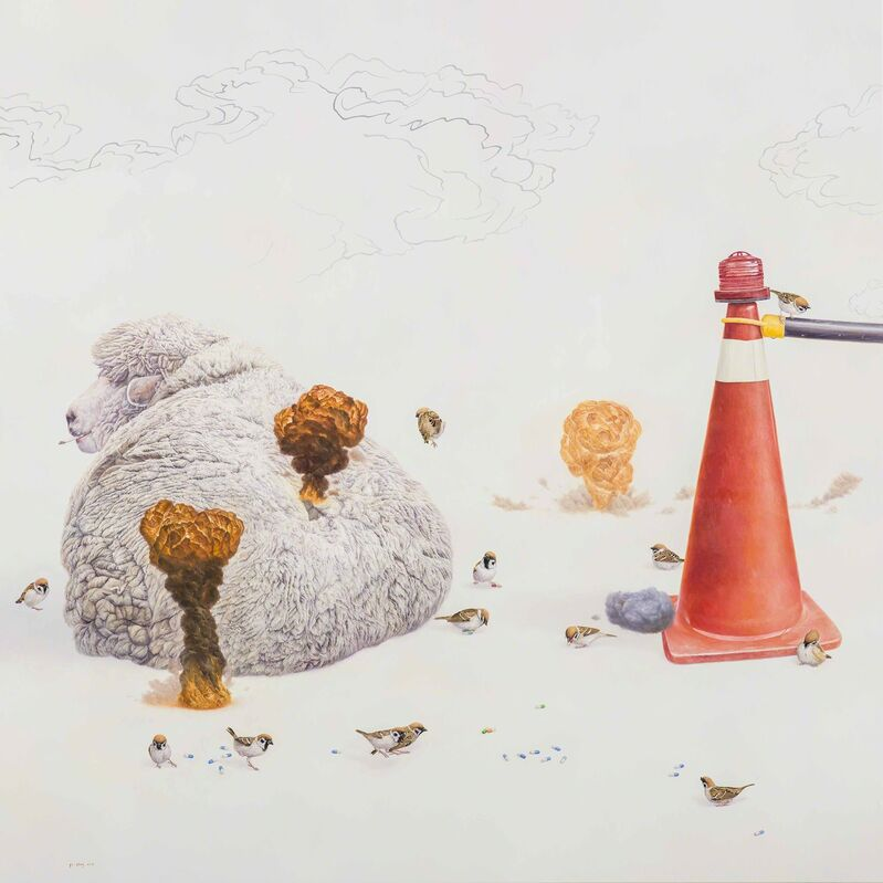 Huang Yi-Sheng, 'Beginning of the Holy War', 2015, Painting, Oil on canvas, Liang Gallery