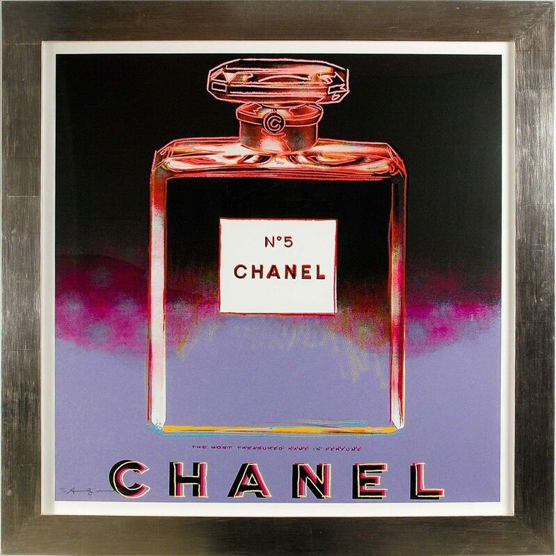 Andy Warhol, 'Chanel (#354, Ads)', 1985, Print, Hand-signed screenprint, Martin Lawrence Galleries
