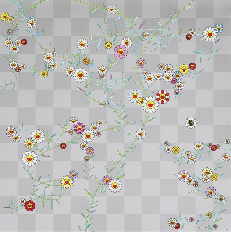 Takashi Murakami, 'Cube', 2010, Print, Offset Lithograph, Pinto Gallery