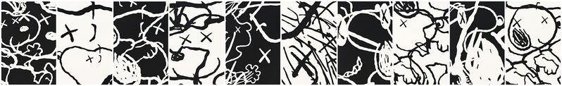 KAWS, 'Man's Best Friend', 2015, Print, Set of 10 silkscreens + 1 cover sheet, Corridor Contemporary