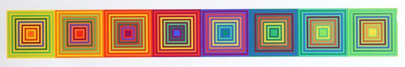 Francisco Sobrino, 'untitled (Squares)', 1970, Print, Silkscreen, RoGallery