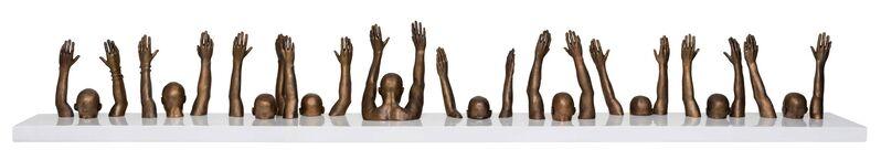 Hank Willis Thomas, 'Raise Up', 2014, Sculpture, Bronze, Goodman Gallery