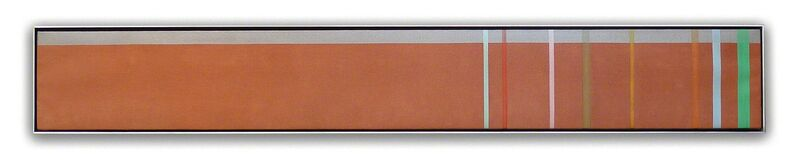 Kenneth Noland, 'Manx', 1972, Painting, Acrylic on canvas, Nikola Rukaj Gallery