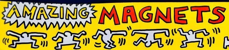 Keith Haring, 'Original Keith Haring Pop Shop magnets (unopened set of 6)', 1985, Ephemera or Merchandise, Keith Haring Magnets, Lot 180