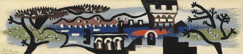 Pablo Picasso, 'Paysage de Juan-Les-Pins', 1925, Painting, Oil on Canvas, Gladwell & Patterson