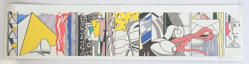 Roy Lichtenstein, 'Greene Street Mural', 1983, Print, Offset-lithograph on Heavy Wove Paper, Blond Contemporary