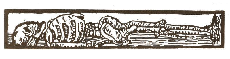Miriam Cullen, 'A Good Lie Down', 2009, Print, Linoprint, Open Bite Printmakers