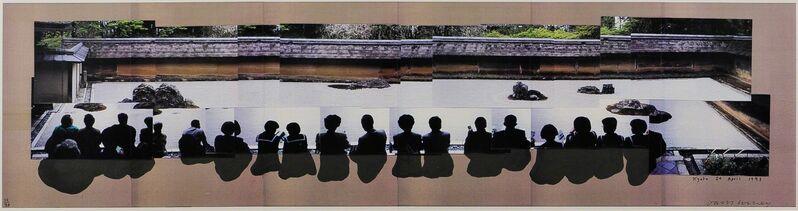 David Hockney, 'Kyoto', 1993, Print, Color laser prints on six sheets of paper, Skinner