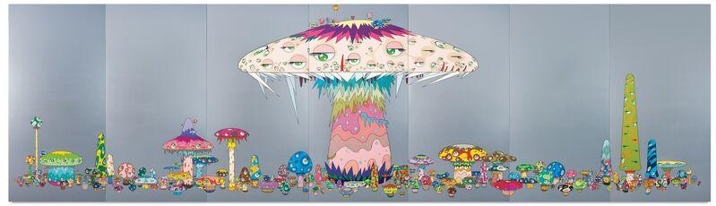 Takashi Murakami, 'Super Nova', 1999, Painting, Acrylic on canvas mounted on board, MCA Chicago
