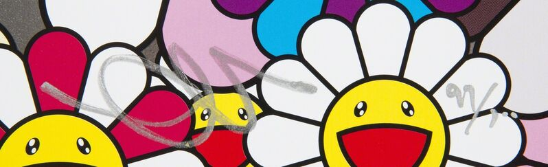 Takashi Murakami, 'Flowers Blooming In The World And The Land Of Nirvana', 2013, Print, Offset lithograph on paper, Julien's Auctions