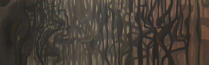 """Raphael Bianco, 's/ título - série """"Jardim Suspenso""""', 2015, Painting, 1,80 x 1,20m, Matias Brotas"""