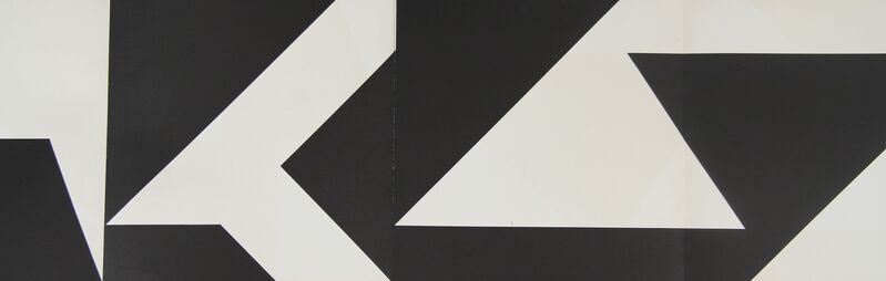 Ivan Serpa, 'Untitled', ca. 1960, Drawing, Collage or other Work on Paper, Silkscreen, Graphos