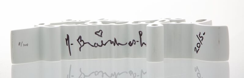 Mr. Brainwash, 'Life is Beautiful (White)', 2015, Sculpture, Painted cast resin, Heritage Auctions
