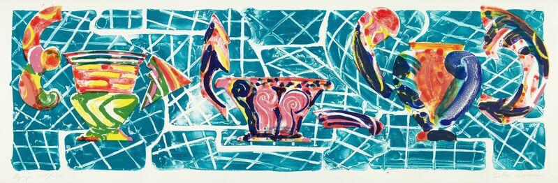 Betty Woodman, 'Eyüp', 1990, Print, Color lithograph, ICA Philadelphia