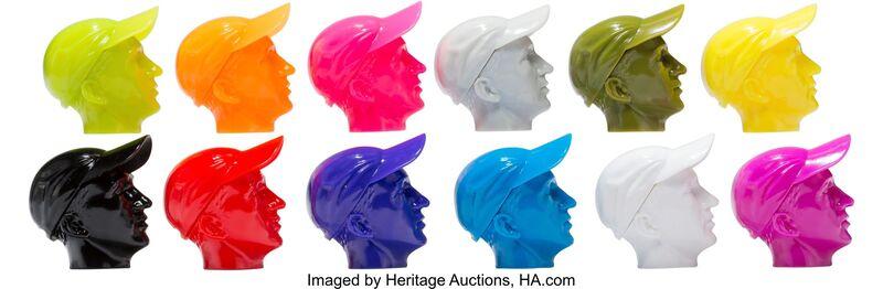 KAWS, 'Permanent Thirty-Three Heads, set of twelve', 2008, Sculpture, Cast vinyl, Heritage Auctions