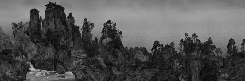 Yang Yongliang 杨泳梁, '江山小景  Intimate Scenery of  Rivers and Mountains ', 2019, Print, 艺术微喷 Giclee Print on Fine Art Paper / 微喷灯箱 Giclee Print on Lightbox, Matthew Liu Fine Arts