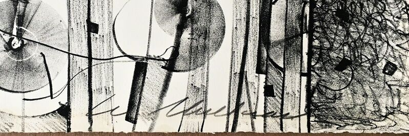 Lee Mullican, 'Untitled', 1964, Print, Lithograph. Hand signed. Annotated. Unframed., Alpha 137 Gallery