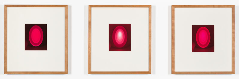 James Turrell, 'From the Guggenheim, Aten Reign', 2013, Drawing, Collage or other Work on Paper, Unique ink-jet print on handmade paper, Häusler Contemporary