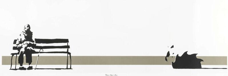Banksy, 'Weston Super Mare', 2003, Print, Two colour screen print, Reem Gallery