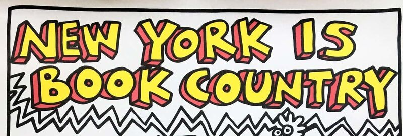 Keith Haring, 'Keith Haring New York is Book Country  ', 1985, Posters, Offset-lithograph, Lot 180