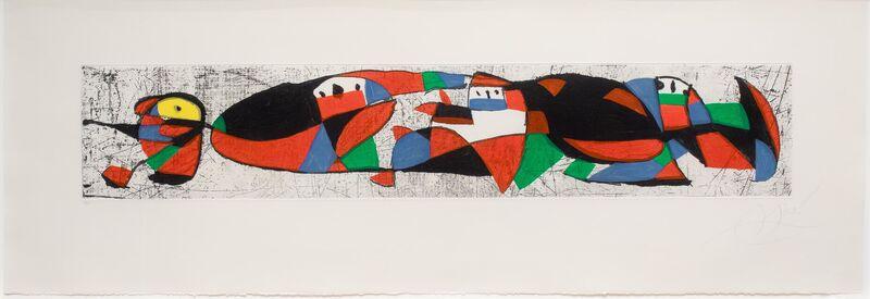 Joan Miró, 'Les Troglodytes I', 1978, Print, Etching and aquatint, Leslie Sacks Gallery