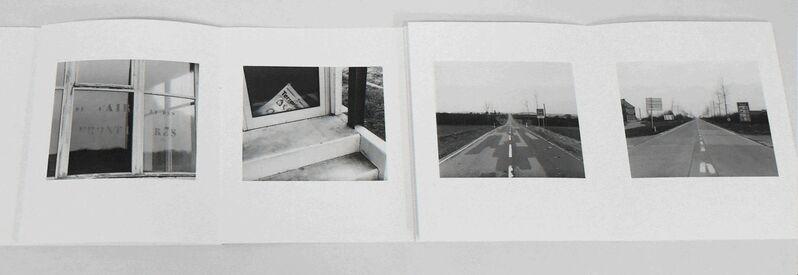 Mikael Levin, 'Cafe de la Frontiere', 2017, Photography, Artist's Book. Archival digital pigment accordion album., MARQUEE PROJECTS