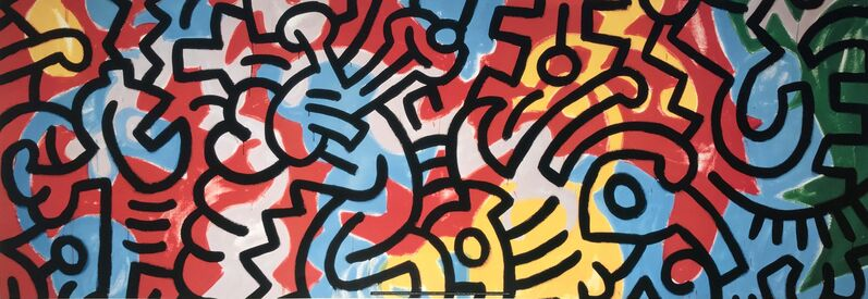 Keith Haring, 'Color', ca. 2000, Ephemera or Merchandise, Lithography, HR Docks Gallery