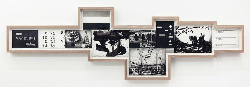 Marcel van Eeden, 'May 17. 1948 (1)', 2013, Drawing, Collage or other Work on Paper, Nero pencil, gouache, oil crayon on paper, Galerie Bob van Orsouw
