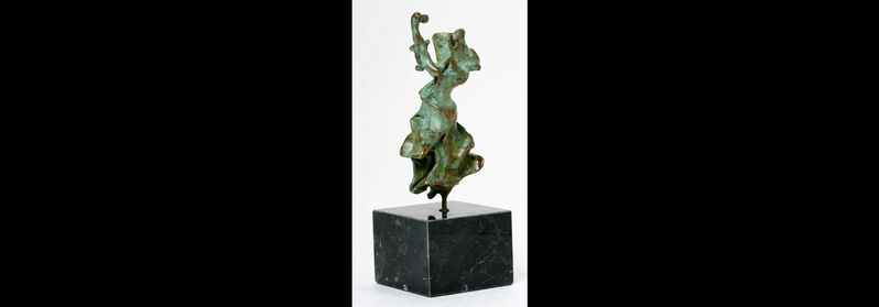 Salvador Dalí, 'Carmen - Castanets', ???, Sculpture, Bronze with green patina on marble stand,, Art Antika