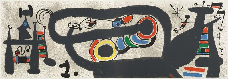 Joan Miró, 'Le Lézard aux Plumes d'Or (M828)', 1971, Print, Color Lithograph, Hans den Hollander Prints