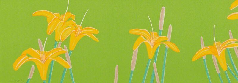 Alex Katz, 'Day Lillies', 1993, Print, Screenprint in colors, on wove paper, the full sheet, Phillips