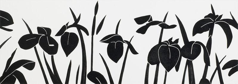 Alex Katz, 'Flags', 2013, Print, Woodcut, Galerie Boisseree