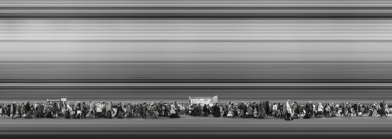 Adam Magyar, 'Urban Flow #1865 (New York)', 2015, Photography, Archival inkjet print, Faur Zsofi Gallery
