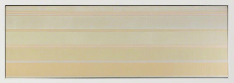 Kenneth Noland, 'Via Fill', 1968, Painting, Acrylic on canvas, Miles McEnery Gallery