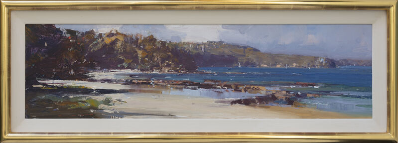 Ken Knight, 'The North Easter, Balmoral Beach', 2020, Painting, Oil on Board, Wentworth Galleries
