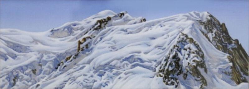 Hervé Heuzé, 'Mont-Blanc ', 2006, Painting, Acrylic on paper, Galerie Richard