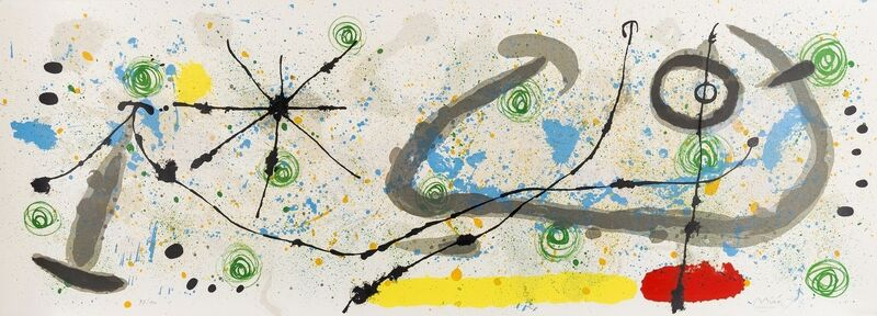 Joan Miró, 'From Le Lézard aux plumes d'or (Mourlot 452)', 1967, Print, Lithograph printed in colours, Forum Auctions