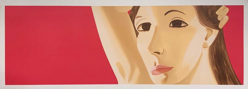 Alex Katz, 'Red Dancer 1', 2019, Print, 28-color silkscreen. Hand signed by the artist., Meyerovich Gallery