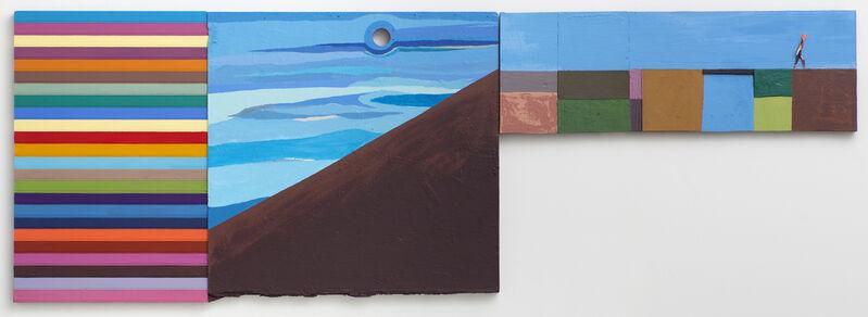 Chris Johanson, 'The Self', 2011, Painting, Acrylic on wood, Galleri Nicolai Wallner
