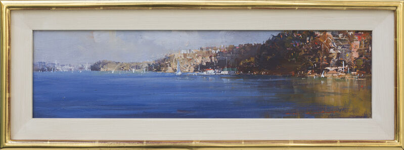 Ken Knight, 'Harbour Foreshores', 2016, Painting, Oil on Board, Wentworth Galleries