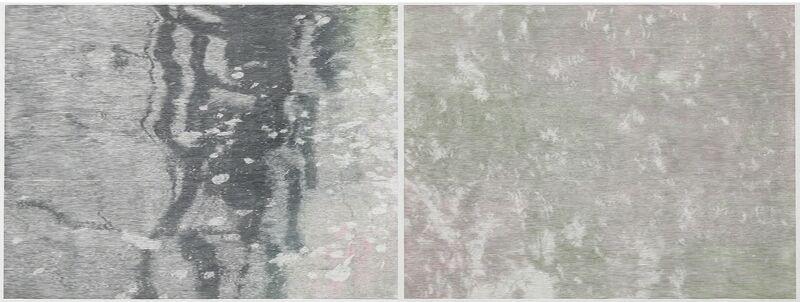 Christiane Baumgartner, 'Deep Water', 2013, Print, Woodcut on kozo paper, Galerie Christian Lethert