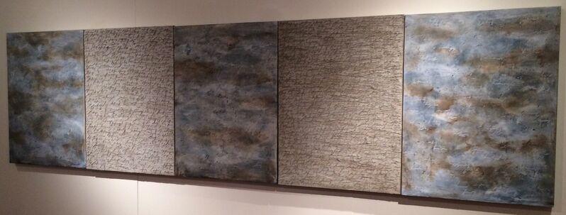 Alfredo Rapetti Mogol, '2,977', 2013, Painting, Acrylic on Canvas, Galleria Ca' d'Oro