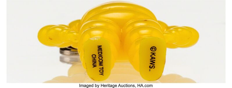 KAWS, 'Chum Keychain (Yellow)', 2009, Other, Painted cast vinyl, Heritage Auctions