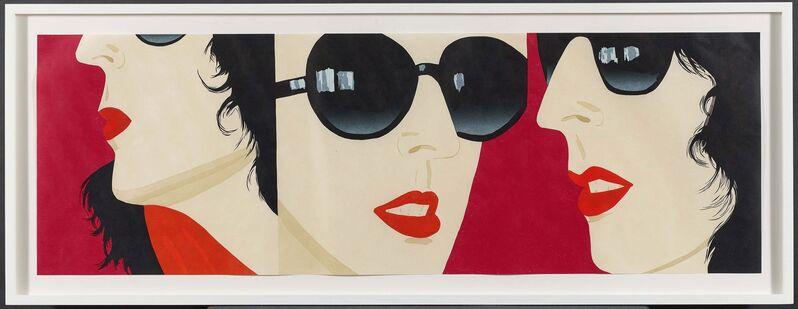 Alex Katz, 'Marisa', 2017, Print, Wood- and linocut on Okawara, Van Ham