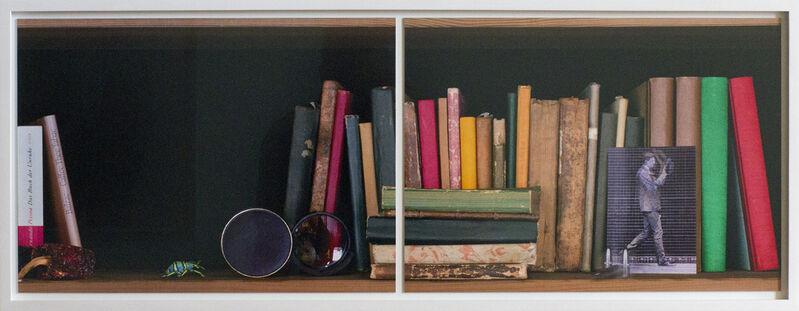 Edgar Leciejewski, 'Scene in a Library (Edition Seiten 32/33)', 2016, Photography, Mixed Media, Galerie Schimming