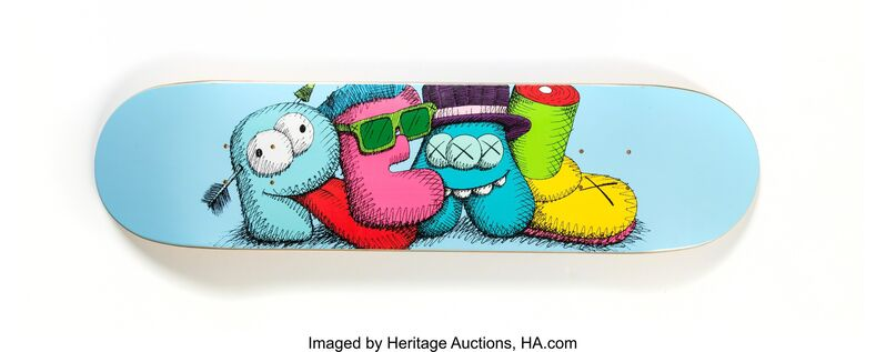 KAWS, 'REAL', 2007, Print, Screenprint in colors on skatedeck, Heritage Auctions