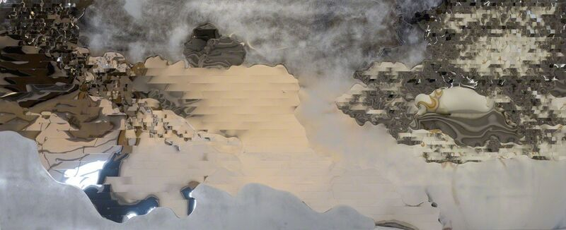 Astrid Krogh, 'Cloud Illusion ', 2015, Sculpture, Aluminium, Galerie Maria Wettergren