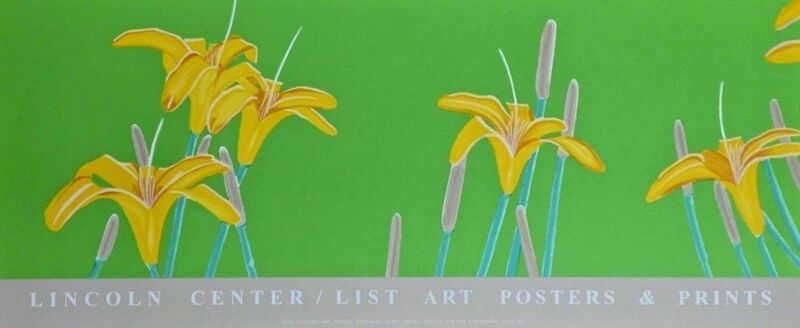 Alex Katz, 'Day Lilies, 1992 Lincoln Center Exhibition Silkscreen Poster', 1992, Print, Silkscreen on wove paper, Art Commerce