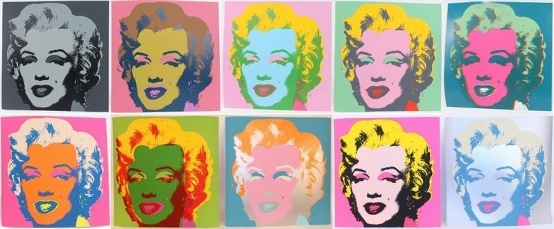 Andy Warhol, 'Marilyn', 1967, Print, Screenprint in colors, David Benrimon Fine Art